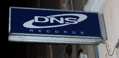 Berlin record store - DNS Records